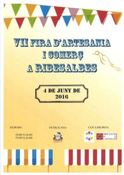 VII Feria del comercio en Ribesalbes