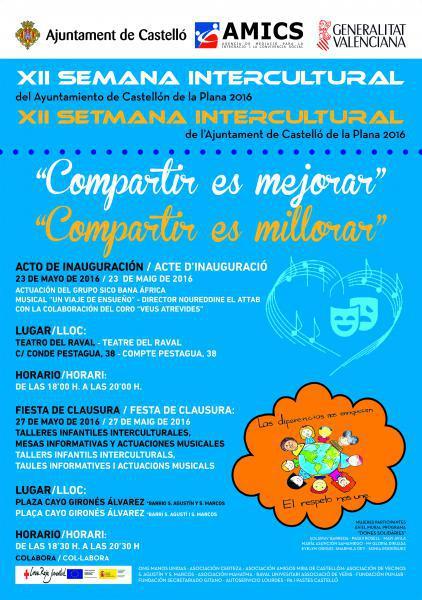 X Semana Intercultural del Ayuntamiento de Castellón de la Plana 2014