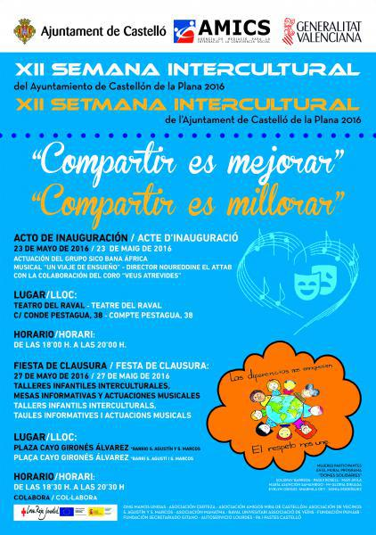 XII Semana Intercultural de Castellón de la Plana 2016
