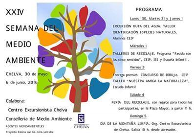 XXIV SEMANA DEL MEDIO AMBIENTE- Chelva 2016