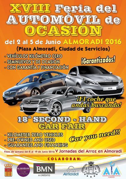 XVIII Feria del Automóvil de Ocasión en Almoradí