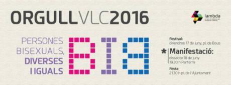 Reivindicación y fiesta. Ven a Valencia al OrgullVLC2016