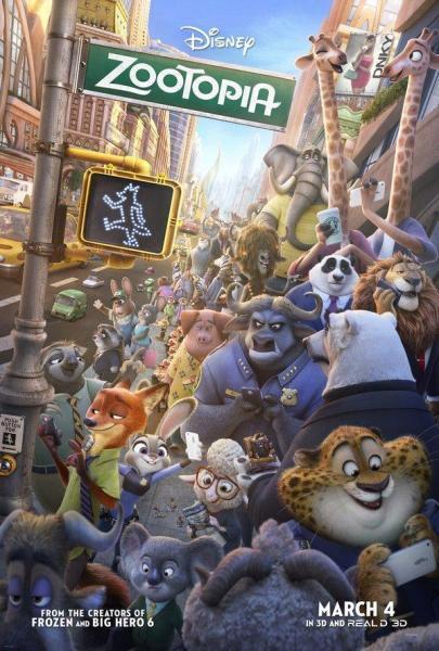 Cine Animación: Zootrópolis