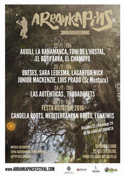 """I Festival """"Arrankapins"""" en Castellón"""