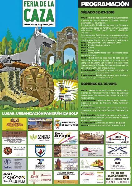 Feria de la caza en Sant Jordi