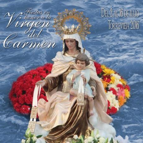 Fiestas en Honor a la Virgen del Carmen en Torrevieja