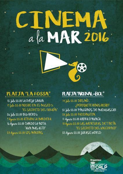 Cinema a la Mar 2016