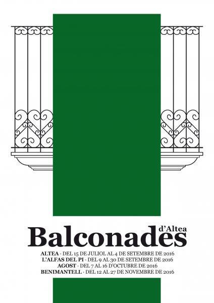 Balconades d Altea