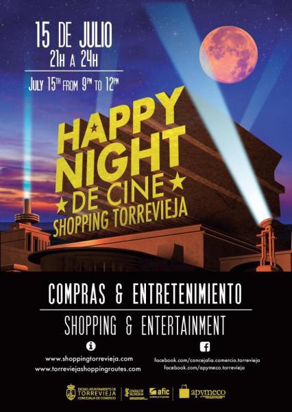 Torrevieja Happy Night de Cine 15 de julio