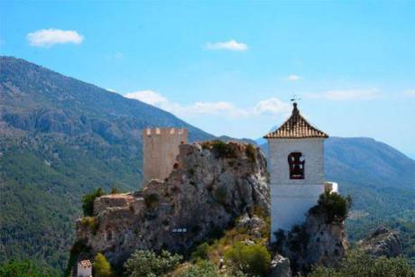 El Castell de Guadalest, paso a paso y guiado