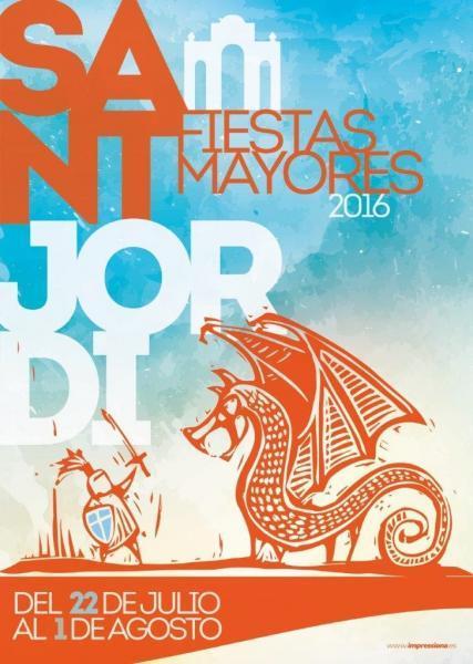 Festividad de Santiago Apóstol en Sant Jordi