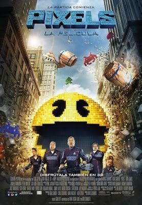 Cinema in the street of Benissa: Pixels