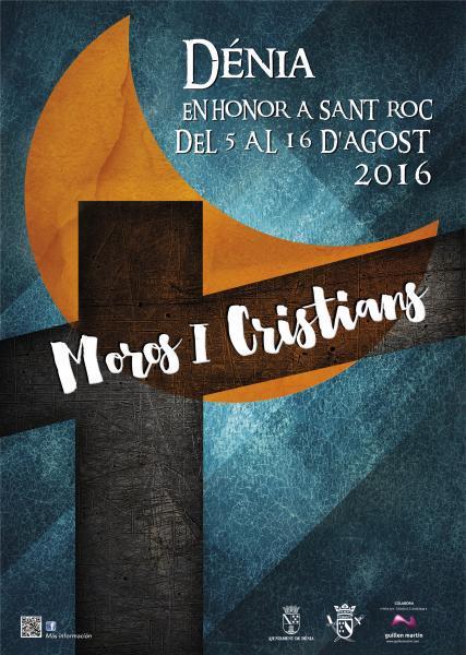 Programa Oficial Fiestas de Moros y Cristianos de Dénia 2016