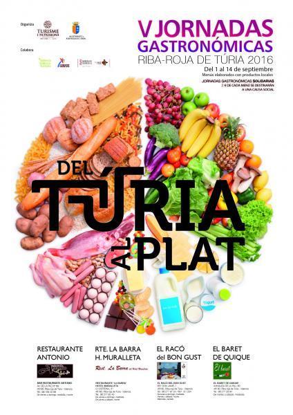 V Jornadas Gastronómicas Riba-roja de Túria 2016