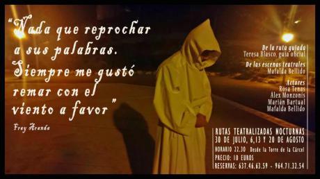 Visita teatralizada Nocturna en Segorbe: ESCENAS DE MI VIDA (María de Luna)