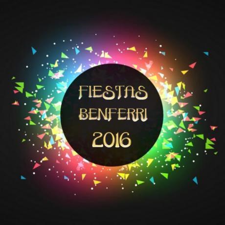 Programa de Fiestas Agosto 2016 Benferri