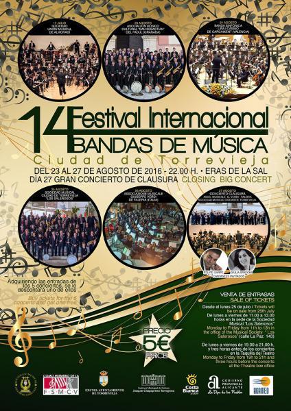 XIV Festival Internacional de Bandas de Música.