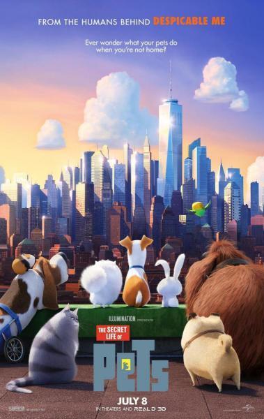 Cine animación: Mascotas