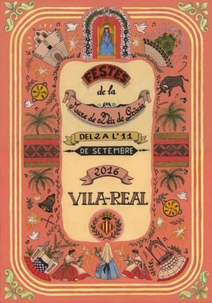 Festes de la Mare de Déu de Gràcia 2016 - Vila-real