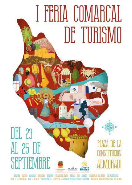 1ª Feria Comarcal de Turismo en Almoradí