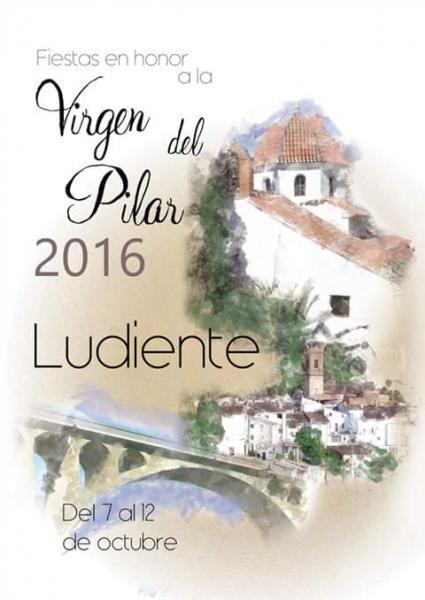 Festividad de la virgen del Pilar en Ludiente