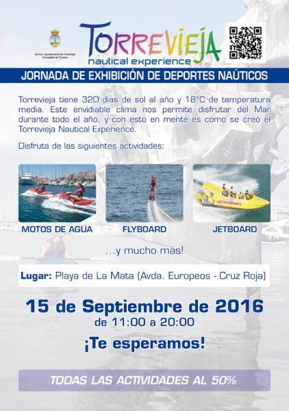 Jornada de Exhibición de Deportes Náuticos en Torrevieja