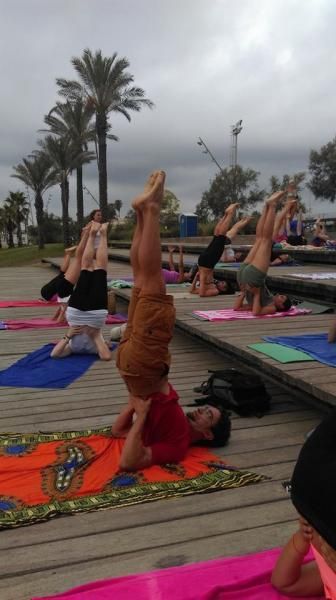 Yoga en la playa Septiembre
