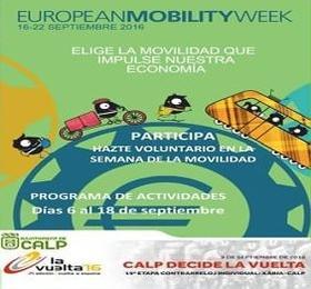 Semana Europea de la Movilidad Calpe 2016