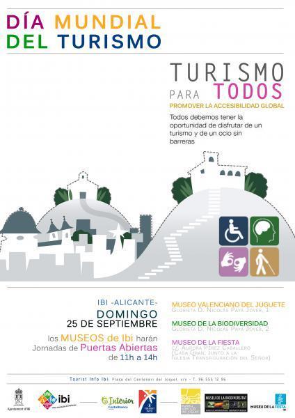 Día Mundial del Turismo en Ibi