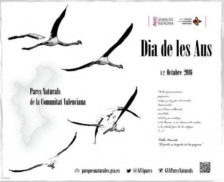'Día de las Aves' en los Parques Naturales de la Comunitat Valenciana
