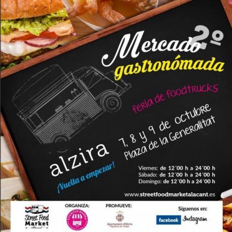 2º Mercado Gastronómada Feria de Foodtrucks
