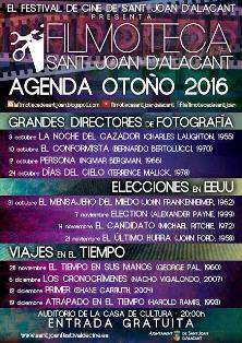 VII edición de la Filmoteca de Sant Joan d'Alacant 2016