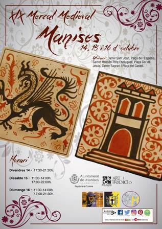 XIX Mercado Medieval en Manises