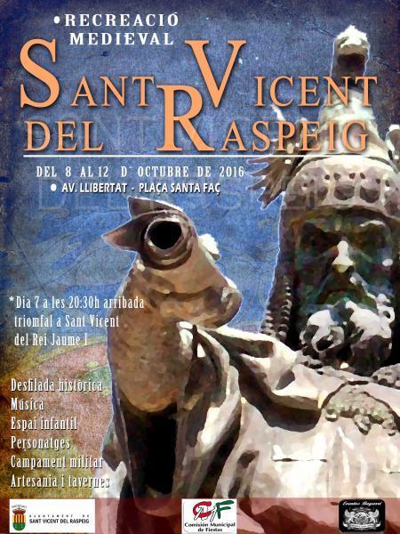 Recreación Medieval. San Vicente del Raspeig 2016