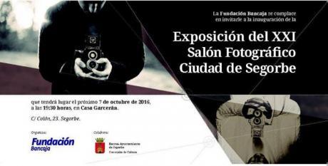 XXI Salón Fotográfico Ciudad de Segorbe