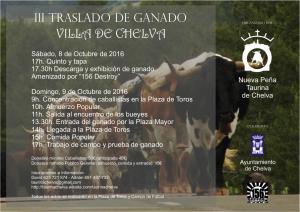 III TRASLADO DE GANADO VILLA DE CHELVA 2016