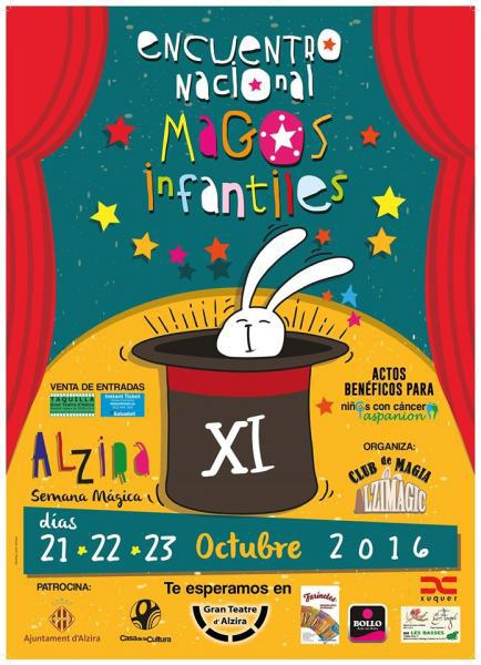 XI Encuentro Nacional de Magos Infantiles Alzira