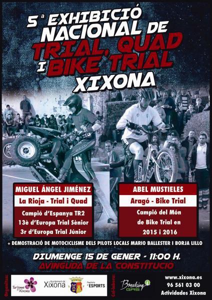 5ª Exhibició Nacional de trial, quad i bike trial Xixona