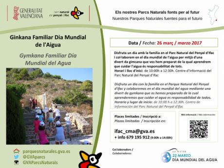Gymkana Familiar Día Mundial del Agua en el Parc Natural Penyal d'Ifac
