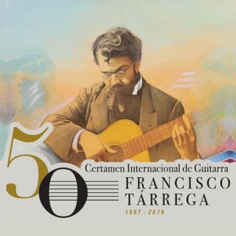 Concurso de carteles del LI Certamen Internacional de Guitarra Francisco Tárrega
