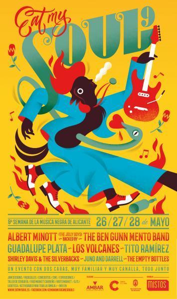 IX Eat My Soul - Semana de la Música Negra en Alicante