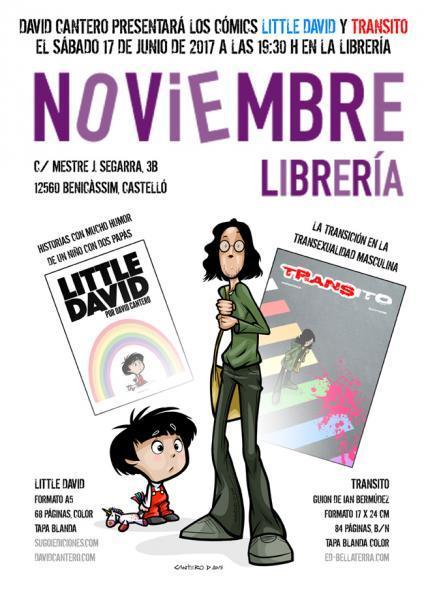 Presentación comics en Librería Noviembre