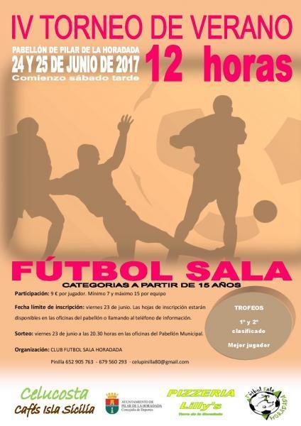 12 Horas de Fútbol Sala en Pilar de la Horadada 2017