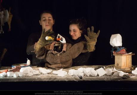 """Teatro: Tof Theatre presenta """"Dans L'Atelier"""""""