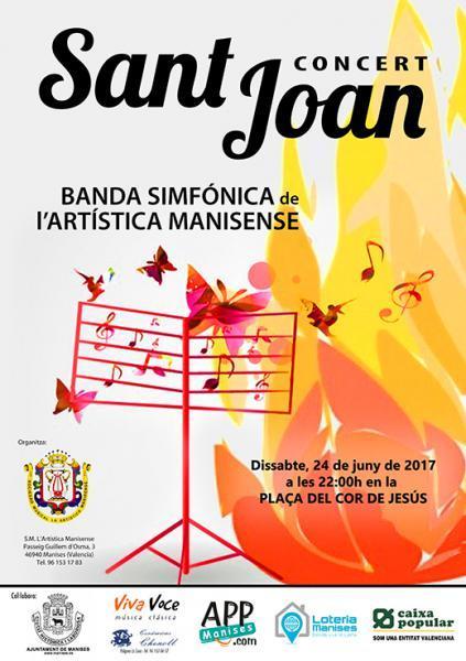 Concierto de San Juan a Manises