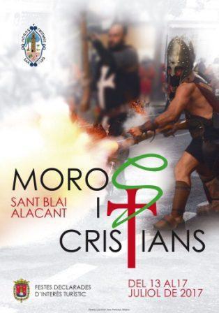 Moros y Cristianos de San Blas 2017