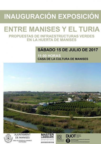 """Exposición de paisajismo """" Entre Manises y el Turia"""""""