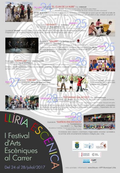 I Festival d'Arts Escèniques al Carrer Llíria 2017