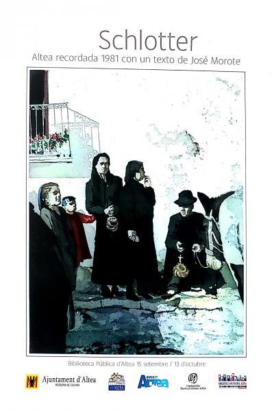 Exposición: Eberhard Schlotter, Altea recordada 1981