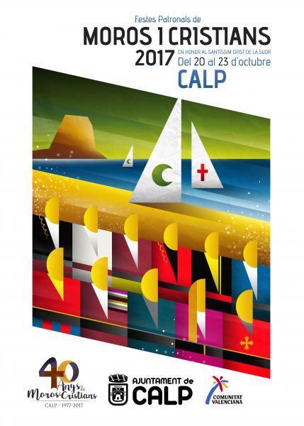 Programa Fiestas Moros y Cristianos Calp 2017